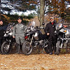 Fall ride in NH.  Me, Joe, Derek, Mark, Gary & LT.