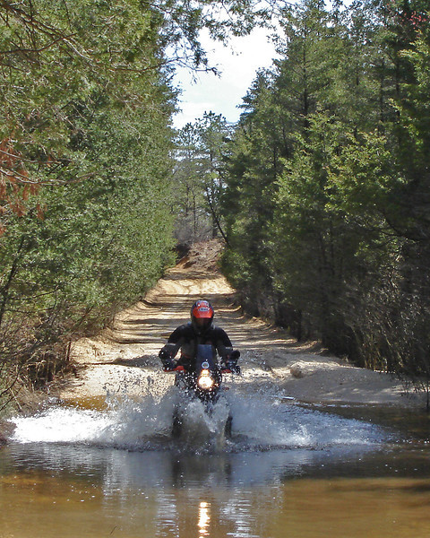 A little water at our first Pine Barrens 300, South Jersey