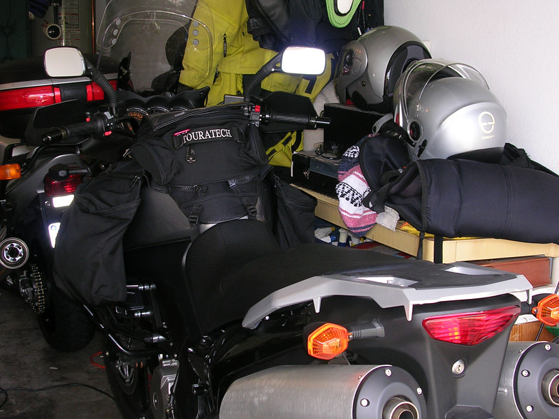 &#43;Touratech tank panniers and bag<br /> &#43;Emgo mirrors