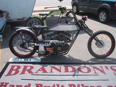 Pre Old School bike (w/100 hp Buell motor)