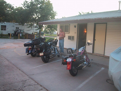 John, and the motel in Minden