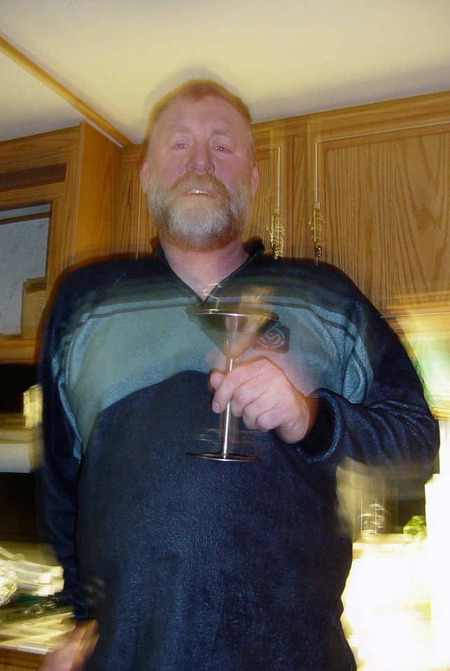 What do do when it's that cold out?  Have another frozen martini, I say!  ;-)