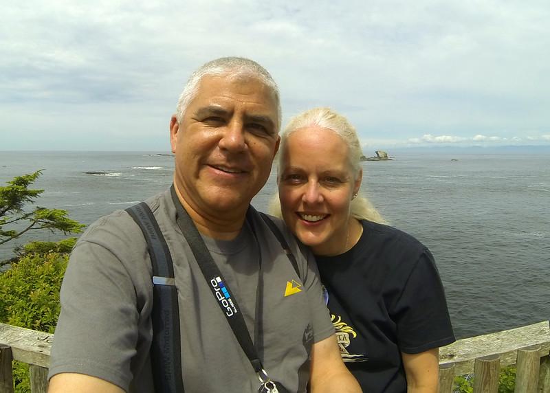 Neah Bay, Cape Flattery Selfie.