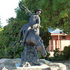 Man from Snowy River monument in Corryong (Vic).