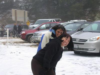 03/12/06 Hwy 9 at Hwy 35. Karen and Renee.
