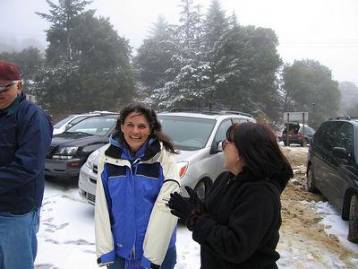 03/12/06 Hwy 9 at Hwy 35. Renee and Karen.