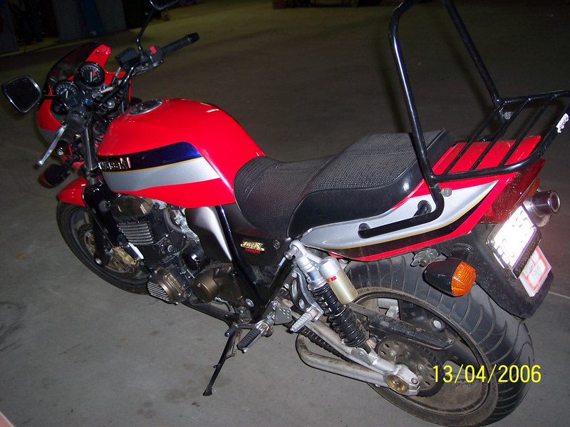 My Kawasaki ZRX1200R