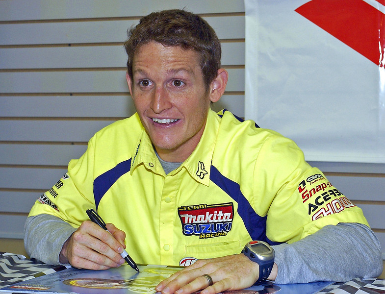 World Championship Racer Ricky Carmichael