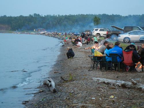 Fourth of July on L'Anse Bay