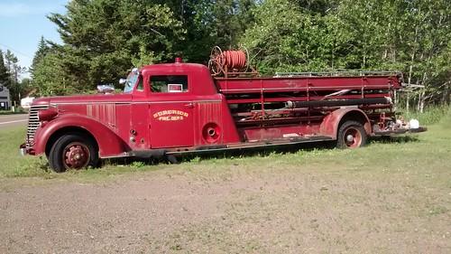 1939 lafrance fire truck