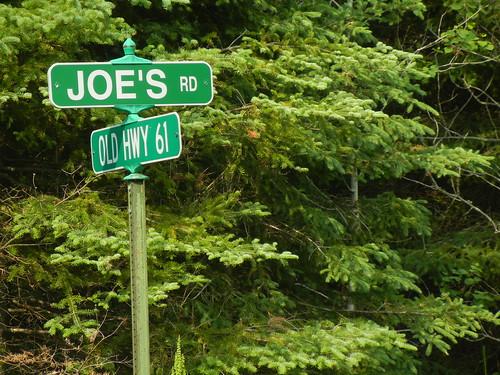 Joe's Road. Who was Joe?