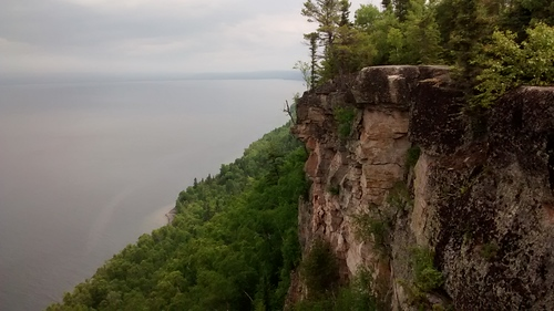 Thunder Bay lookout at Sleeping Giant Provincial Park