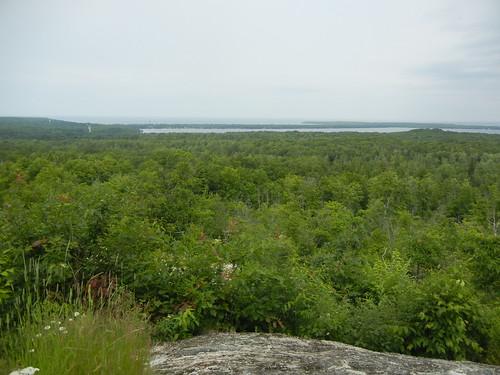 Thomas Rock Overlook near Big Bay