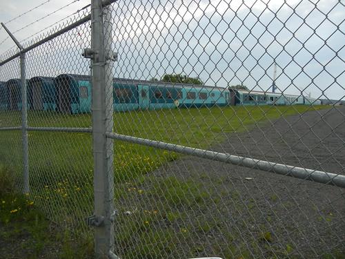 Thunder Bay trolley yard