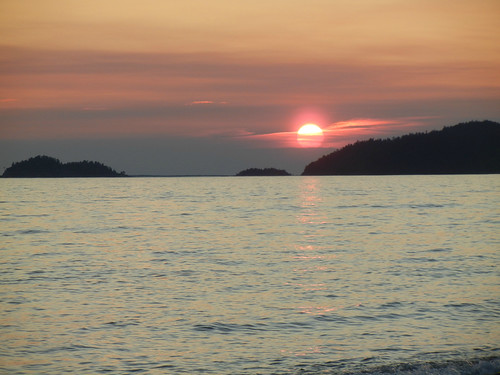 Sunset at Agawa Bay