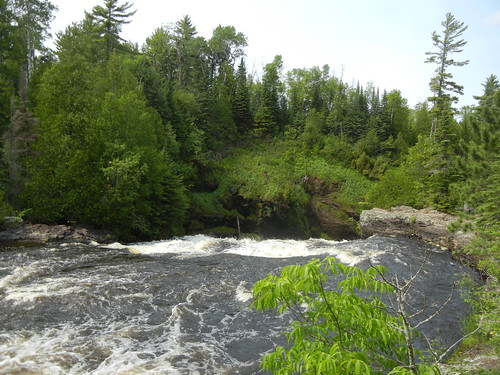 Top of Partridge Falls