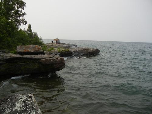 Pointe Abbaye on Lake Superior