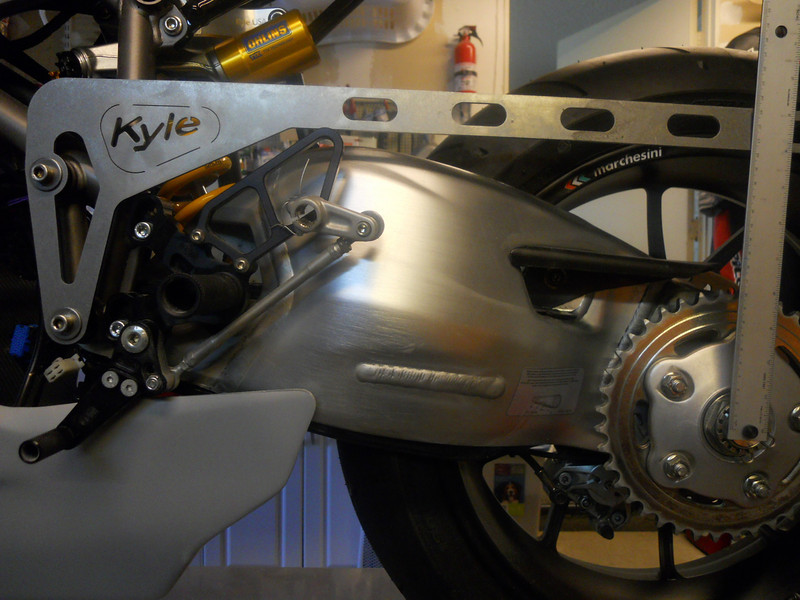 It is recommended to use 235mm as a starting point with the Kyle Racing tool.