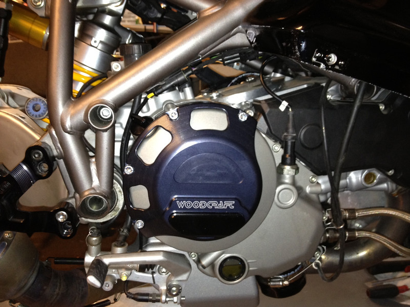 Woodcraft has a new clutch cover, nice quality and offered for a good price.