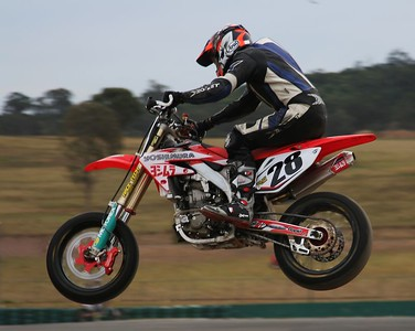 Supermotards at Oran Park