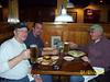 Dinner later on Friday at the Outback near our motel in Clarksburg/Bridgeport WV.