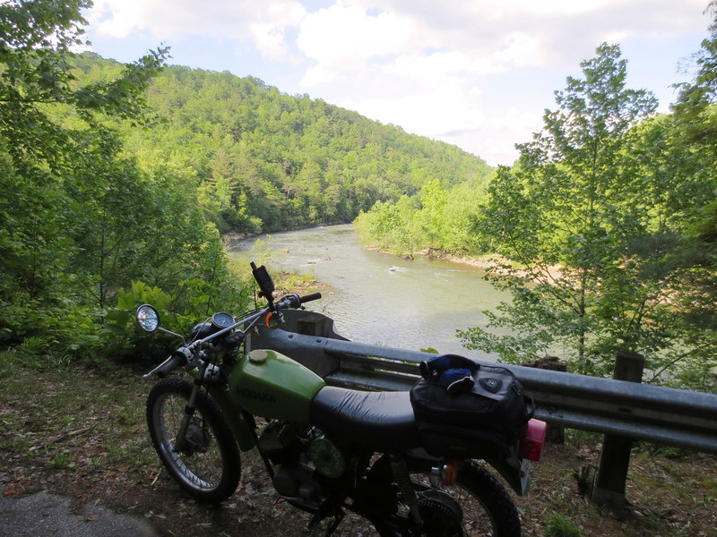 Obed River, near Wartburg, TN