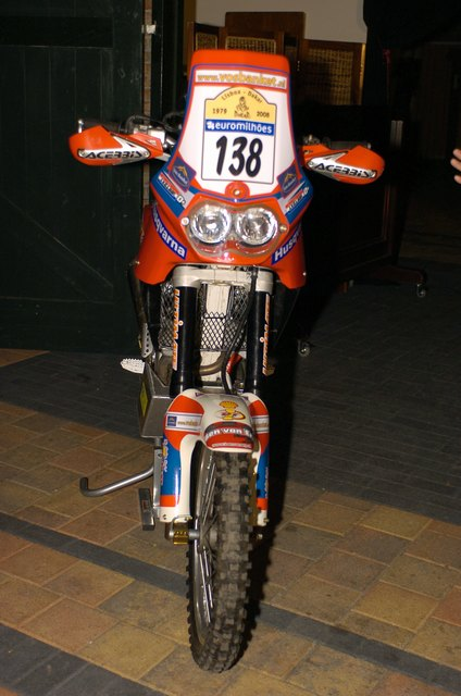 TE-450 Dakar Bike(not mine)
