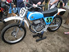 Old Bultaco Pursang, nicely restored!