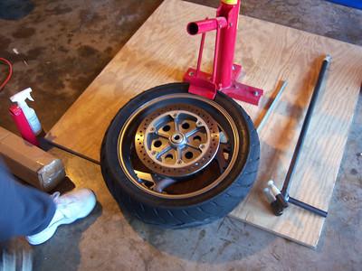 New Tire Changer & Garage Overhaul