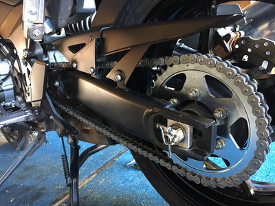 Versys Chain & Sprockets