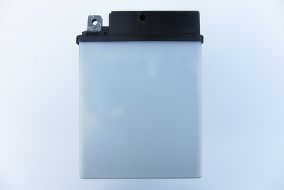 BMW Mareg Battery - Side  Base dimensions: 124 mm x 180 mm (128 mm x 184 mm at cover) Height: 175 mm
