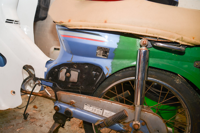 Honda C90 Bobber Project