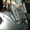 Vstrom or KLV1000 windshield brackets set in highest position.