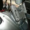 Vstrom or KLV1000 windshield brackets set in highest position.