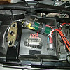 power distribution under seat
