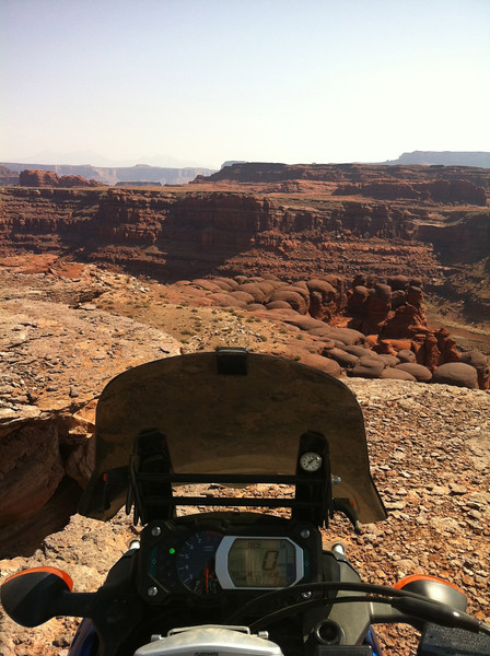 Shafer Canyon Rd, Colorado River overlook