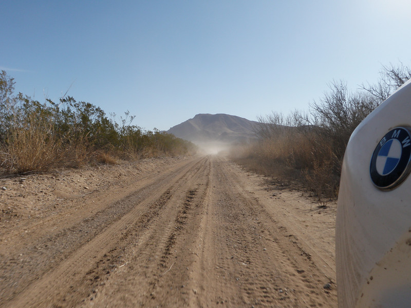 More dust on the trail