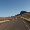 North out of Terlingua