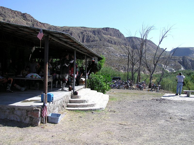 The Ivey house on 170 West of Lajitas , sits on the Rio Grande, with a beautiful view