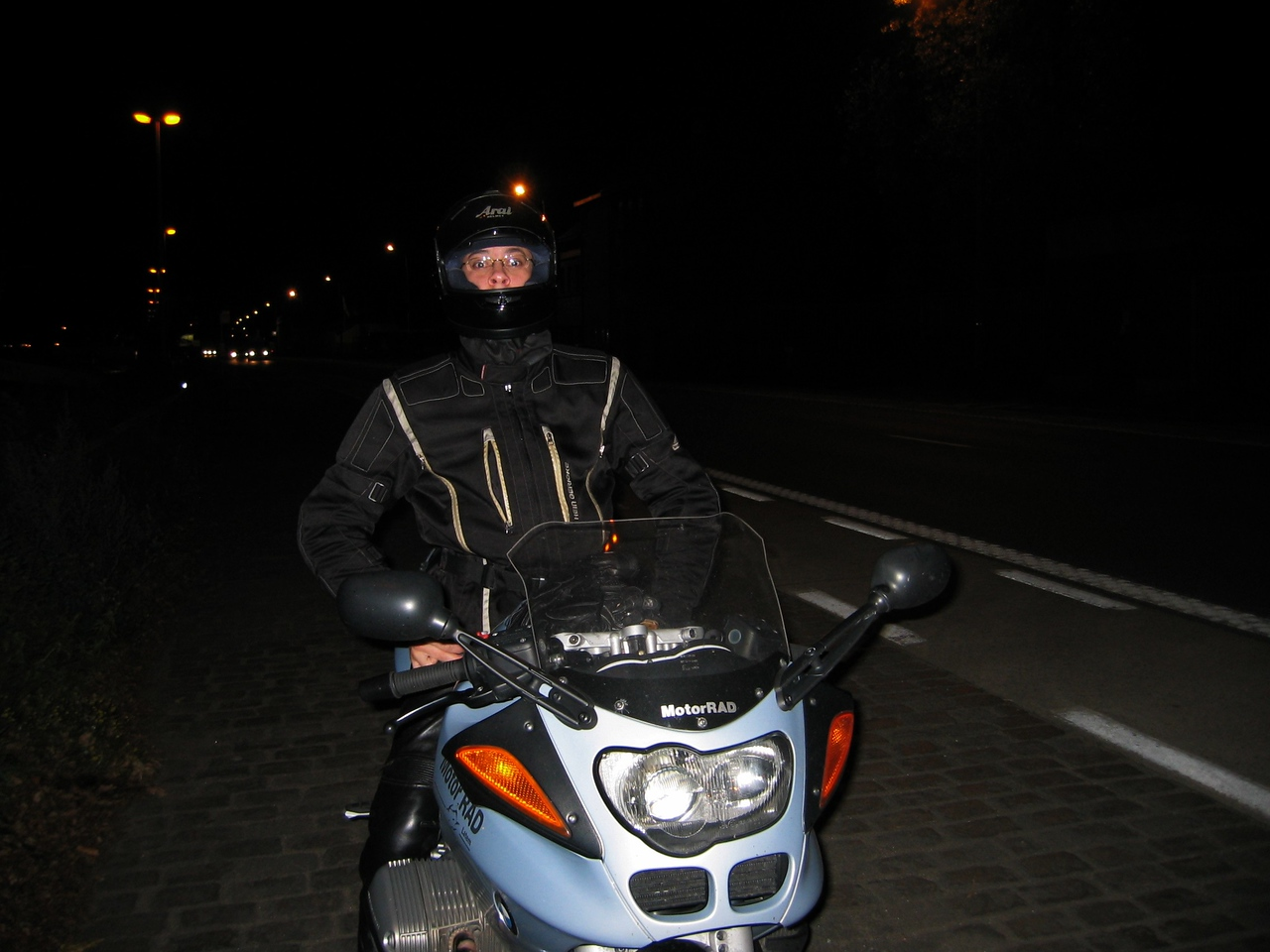 The night-rider is here :-)...