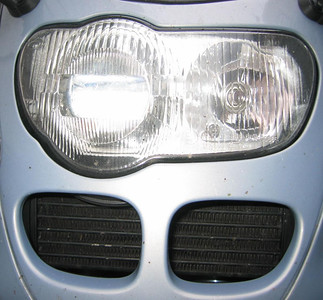 There is only one headlight like this one!