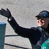 Grand Marshal Tammy Dombeck, NBC 5 Traffic Reporter. <br /> (extreme crop)