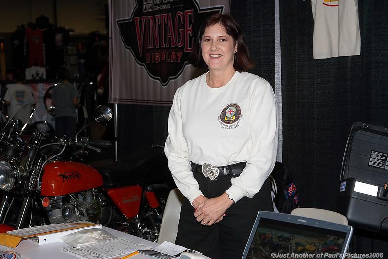 International Motorcycle Show 2006, Laura.