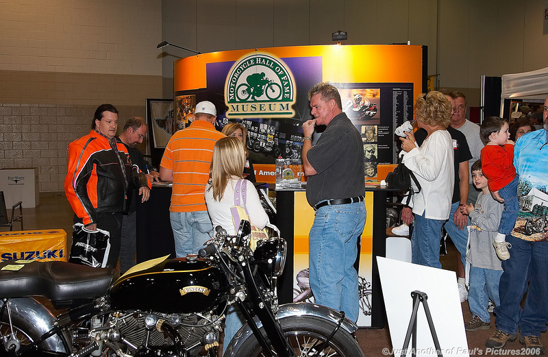 International Motorcycle Show 2006, Museum Booth