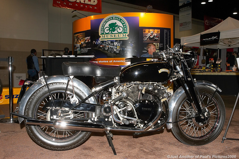 International Motorcycle Show 2006, The Vincent Auction Bike