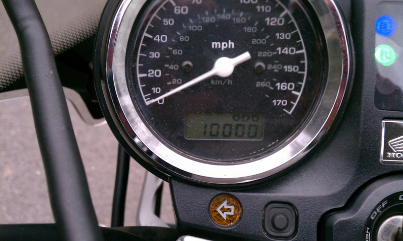 November 20, 2011: 10k on the clock
