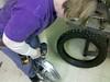 Drilling wheel for Tubliss