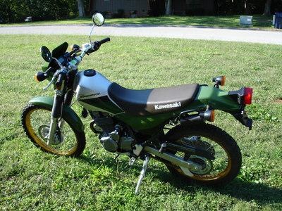 2001 Kawasaki Super Sherpa - Pemba