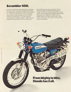 I grew up riding on a 1969 Honda 450 just like this. Still in my mind one of the best looking and sounding bikes ever.