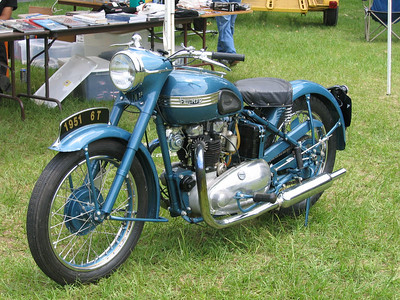 Old British bikes are just plain good looking..